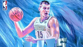 Nikola Jokic 41 Points Career High! Outscores Nets Starters Combined! 2017-18 Season