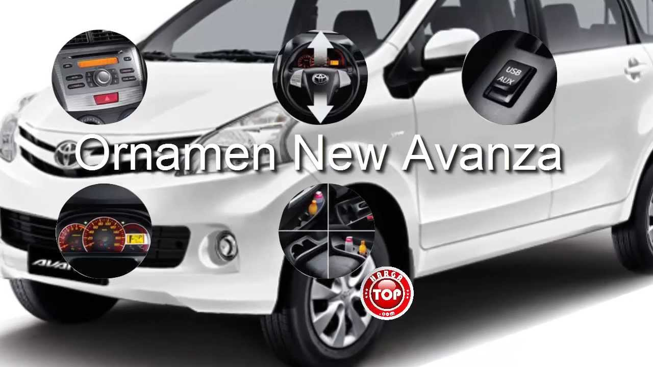 Toyota Avanza Mobil All New Avanza Veloz Harga N Spesifikasi YouTube