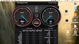 Measure the Speed of a Hard Disk
