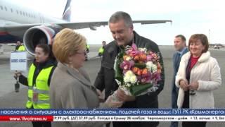 На полуостров с рабочим визитом прибыла министр здравоохранения РФ Вероника Скворцова