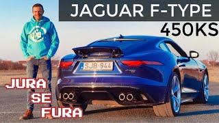 Jedan od posljednjih romantičara! - Jaguar F-Type V8 P450 - Jura se fura