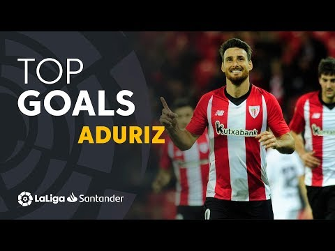 TOP 25 GOALS Aritz Aduriz en LaLiga Santander
