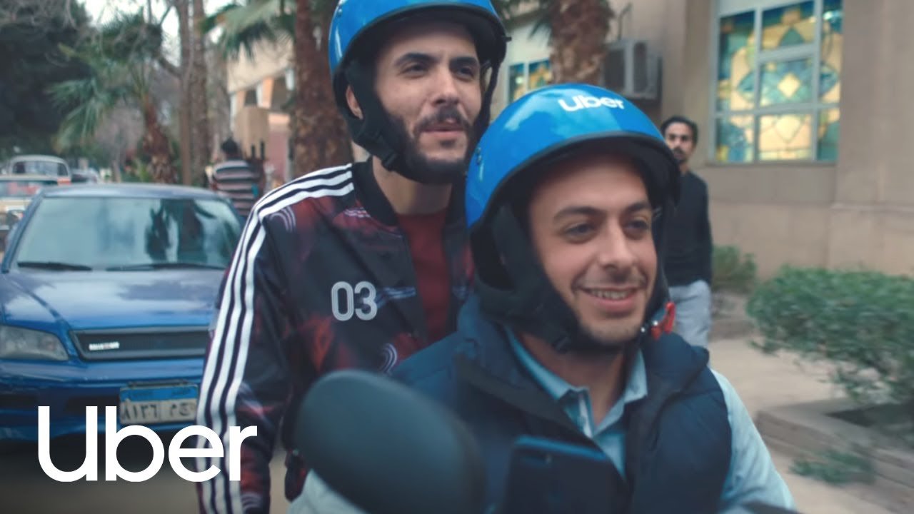 Scooter Song - Egypt   طير بينا يا عم   Uber