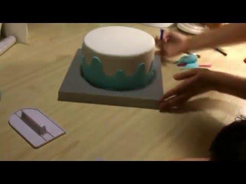 Как оформить детский торт своими руками [7] Я - ТОРТодел!