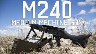M240 Medium Machine Gun | How to Load Unload and shoot | Tactical Rifleman