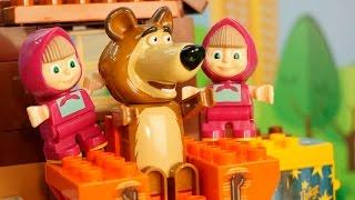 Мультфильмы для детей Маша и Медведь новые серии Маша пугает Мишу. Новые мультфильмы 2016
