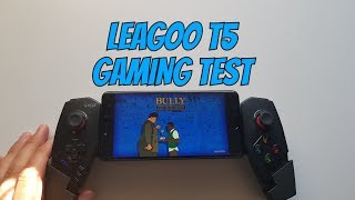 Leagoo T5 gaming test/Gameplay/Android games/with gamepad/Mali T860 MP2