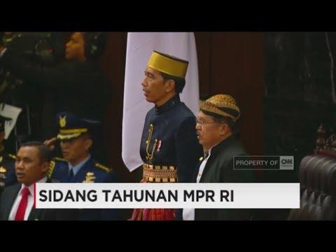 Momen Jokowi-JK Berbaju Adat di Sidang Tahunan MPR RI
