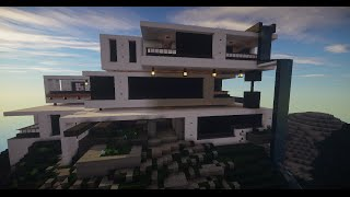 modernas minecraft casas
