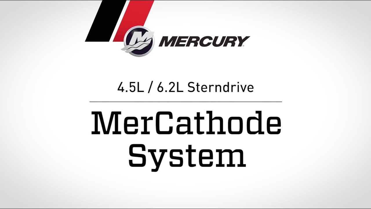 MerCruiser 4.5L / 6.2L Sterndrive - MerCathode System - YouTube