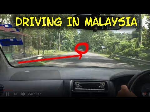 Malaysia - कार चलना सीखो इनसे