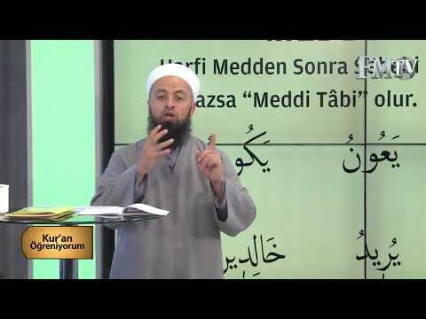 (Medd-i Tabii)Mehmet Akdemir Hoca ile Kuran Öğreniyorum 2.Bölüm FM TV