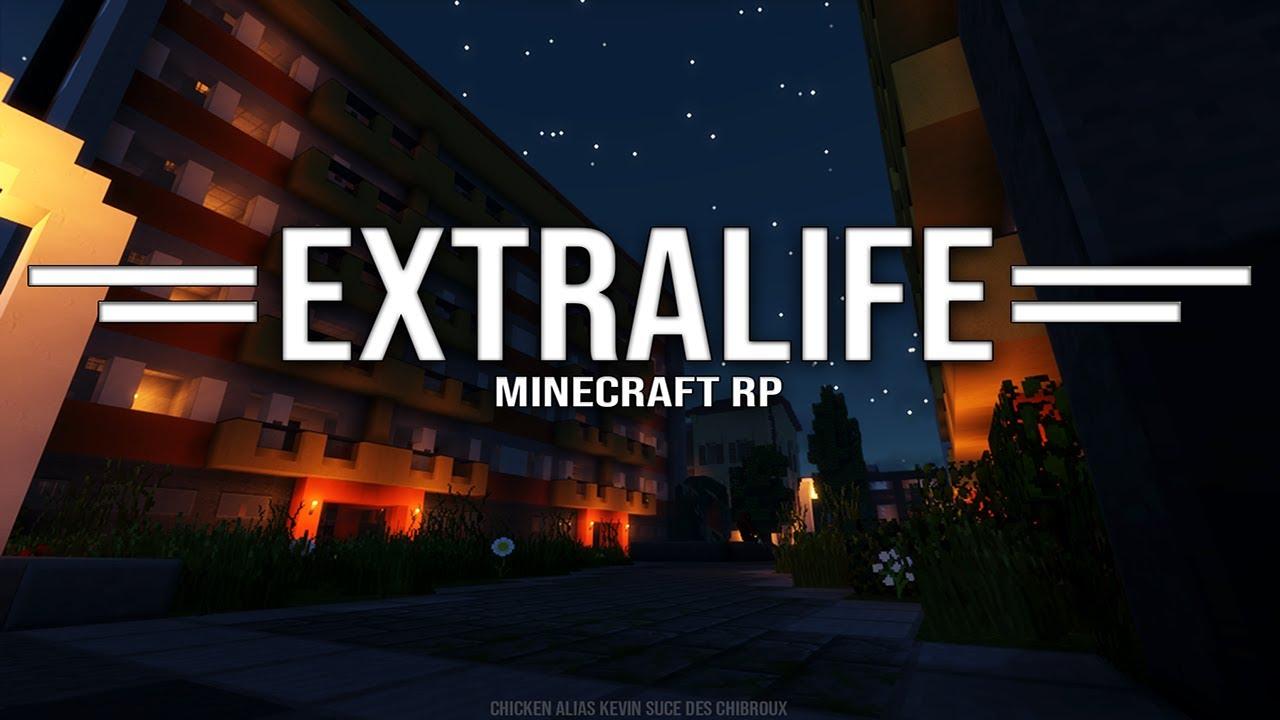 Trailer | EXTRALIFE EST DE RETOUR ! Minecraft RP