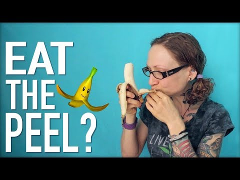 Health Benefits of Eating Banana PEELS!