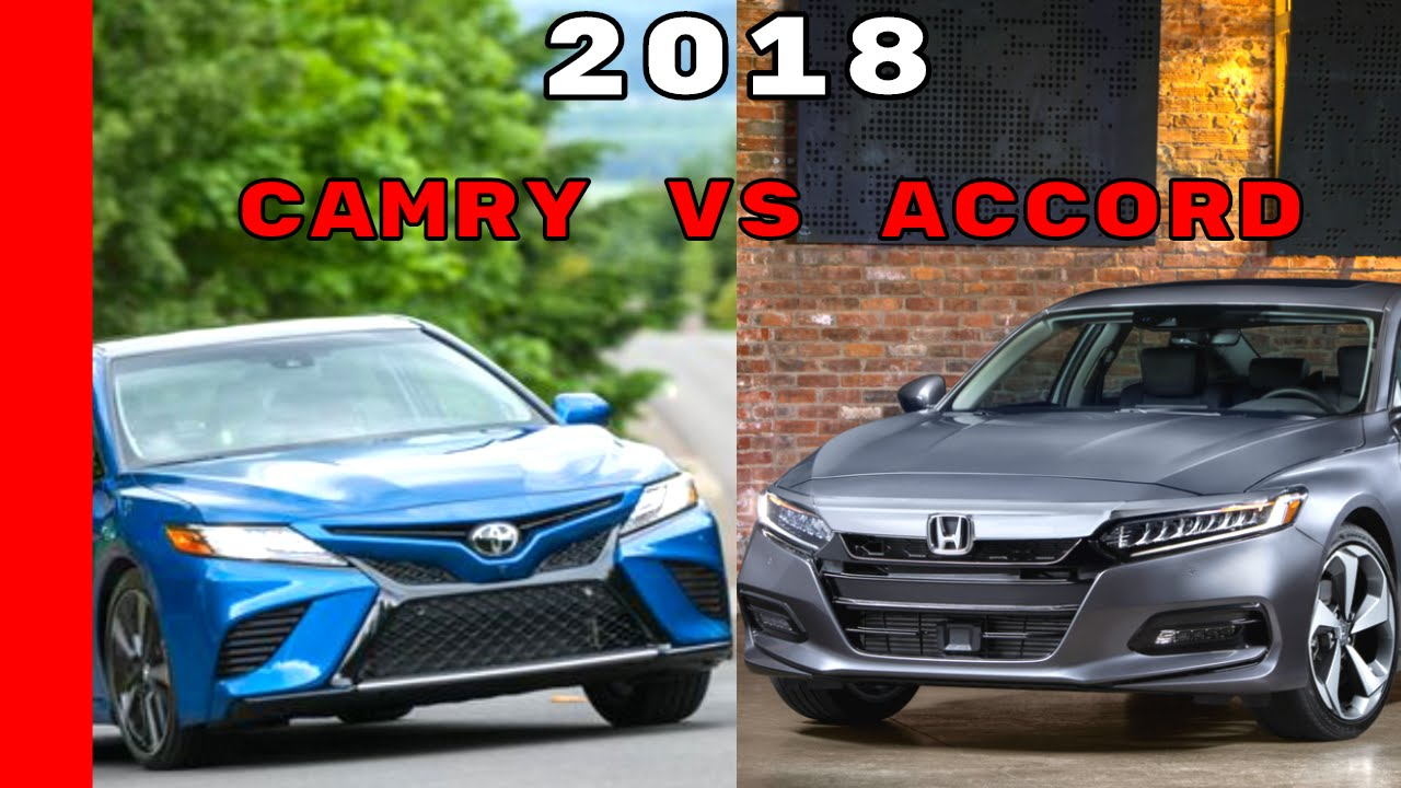Camry Vs Accord >> 2018 Honda Accord Vs 2018 Toyota Camry Youtube