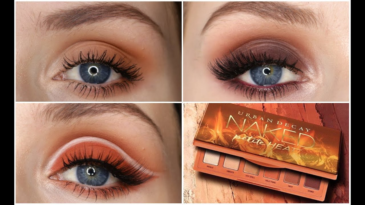 URBAN DECAY NAKED PETITE HEAT | 3 looks, 1 palette!