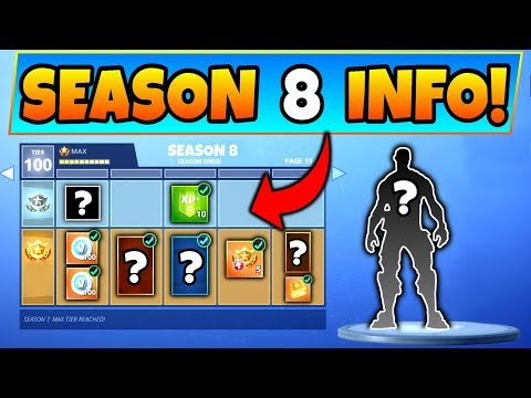 Fortnite SEASON 8 BATTLE PASS! - 6 Details We Know! (Battle Royale Update & Skins Info) thumbnail