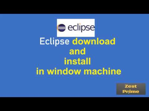 6.How To Install Eclipse IDE 2020-03 On Windows 10 |Zest Prime