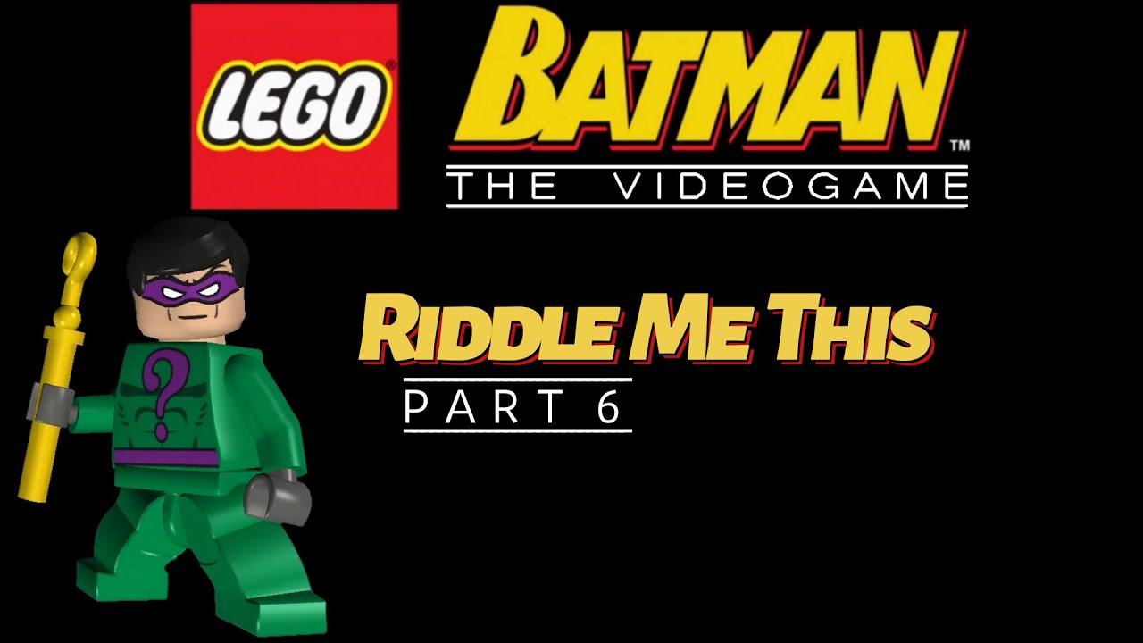 Riddle Me This | Lego Batman - Part 6 | The Face-Off ...