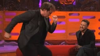 QUENTIN TARANTINO: Dancing the Pulp Fiction Twist (The Graham Norton Show) thumbnail