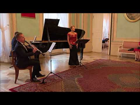 Louis Spohr -  Six German Songs for soprano, clarinet and piano op. 103