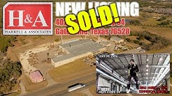 Sold: Former Cross Trailers Builidng @ 4025 East Highway 84 - Gatesville, Texas 76528
