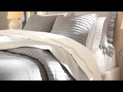Rustic Luxe Bedding   Pottery Barn