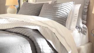 Rustic Luxe Bedding | Pottery Barn
