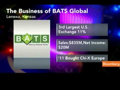 Exchange-Operator Bats Global Files Initial Offering
