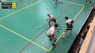 1. liga mužov 4. kolo TEMPISH CAPITOL Floorball Club - FbO Žochár Topoľčany, SZFB