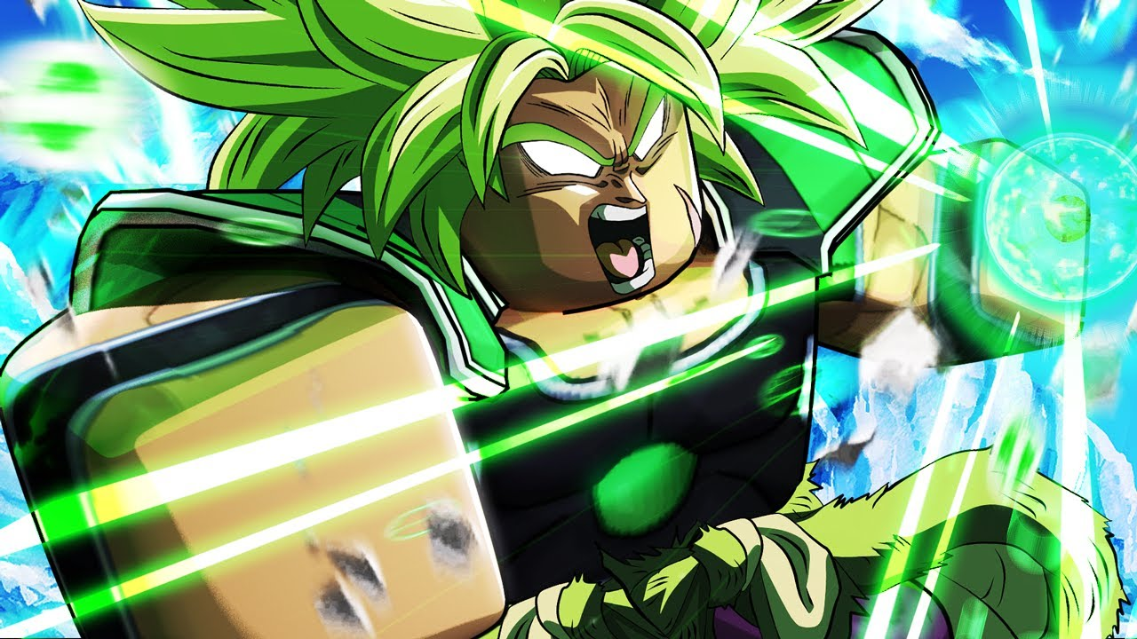 Download A Universal Time X Broly The Legendary Super Saiyan