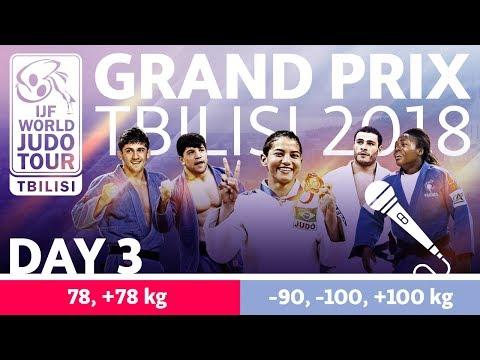 Judo Grand-Prix Tbilisi 2018: Day 3
