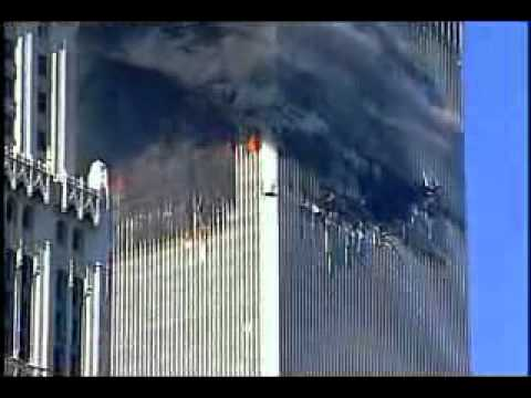 911 world trade center crash video with original sound