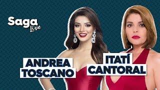 #SagaLive Itatí Cantoral, Andrea Toscano y Fernando Belaunzarán con Adela Micha thumbnail