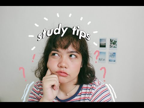 10 Study Tips! (Philippines) | Ina Louise