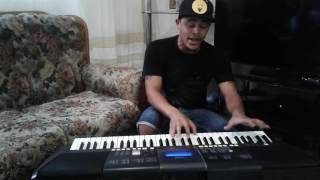 versace on the floor,by  Vicus Visser. Bruno Mars cover