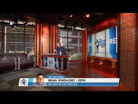 ESPN NBA Insider Brian Windhorst Talks NBA Trade Rumors & More (Full Interview) - 6/29/17