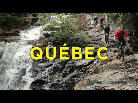 Riding Rock Rolls & Waterfalls in Québec City