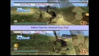2P Special - Huang Zhong and Xiahou Yuan - Dynasty Warriors 5 Xtreme Legends - Chaos Mode