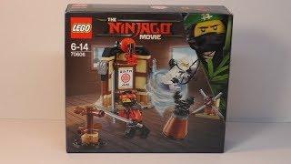 Lego Ninjago Movie 70606 - Spinjitzu Training   Review Deutsch HD