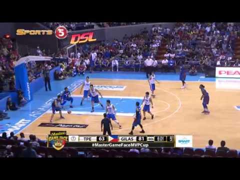 GIlas Pilipinas vs. Chinese Taipei Q4 | MVP CUP 2015