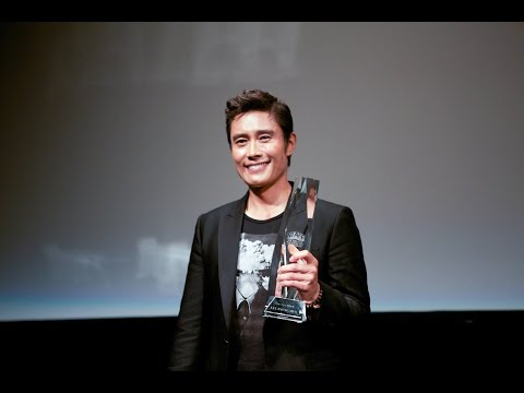 Korean Actor Lee Byung-hun receives the 2016 New York Asian Film Festival Star Asia Award