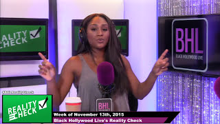 Patti's Pie Goes Viral, Caitlyn Jenner Side Boob, Tamar Sick On #DWTS & More!   BHL's Reality Check