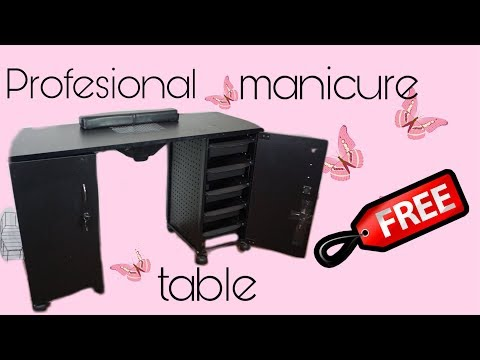 I got a FREE professional manicure table!! | ByClouser