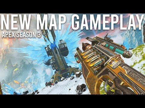 Apex Legends Season 3 gameplay - New Map, Crypto and Charge Rifle.