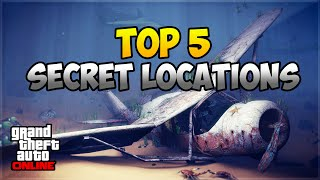 GTA 5 Online: TOP 5 SECRET LOCATIONS | GEHEIME ORTE IN GTA 5 | Deutsch