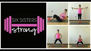 4 Week Home Workout Program and Eating Plan- Six Sisters Strong | Six Sisters Stuff