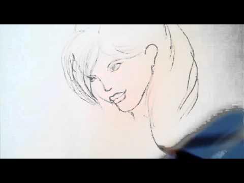 Dessiner une fille facile rapide dessin timelapse youtube - Fille facile a dessiner ...