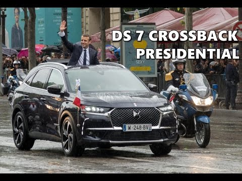 DS 7 CROSSBACK for French President Emmanuel Macron