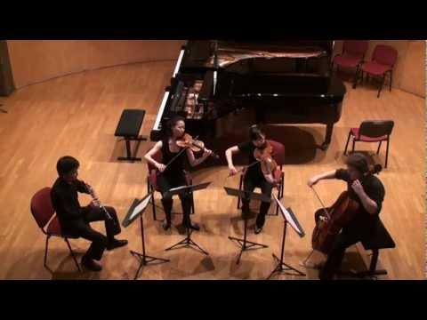 Mozart Quatuor pour Hautbois Violon Alto et Violloncelle en fa majeur, K.370 (K368b)
